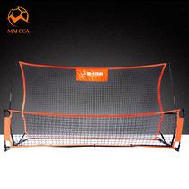 足球双面反弹网高低双面回弹球门传球射门辅助用具足球训练器材