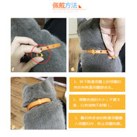 Dog collar laps external deworming cat anti-scorpion collar Teddy bears in addition to flea collar pet supplies