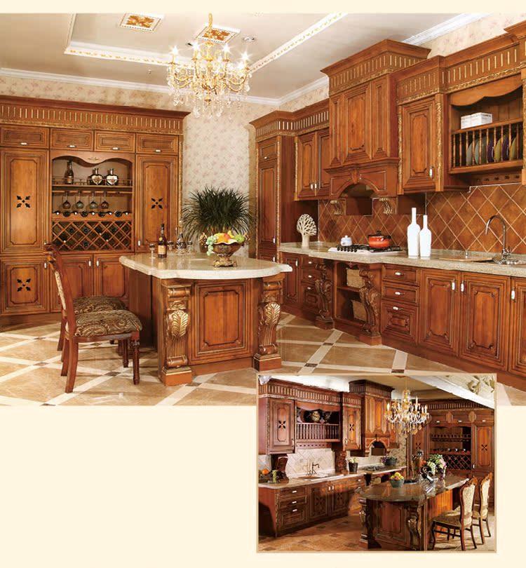 厂家直销 进口美国红橡木橱柜定做|纯原木实木橱柜门板|厨柜定做