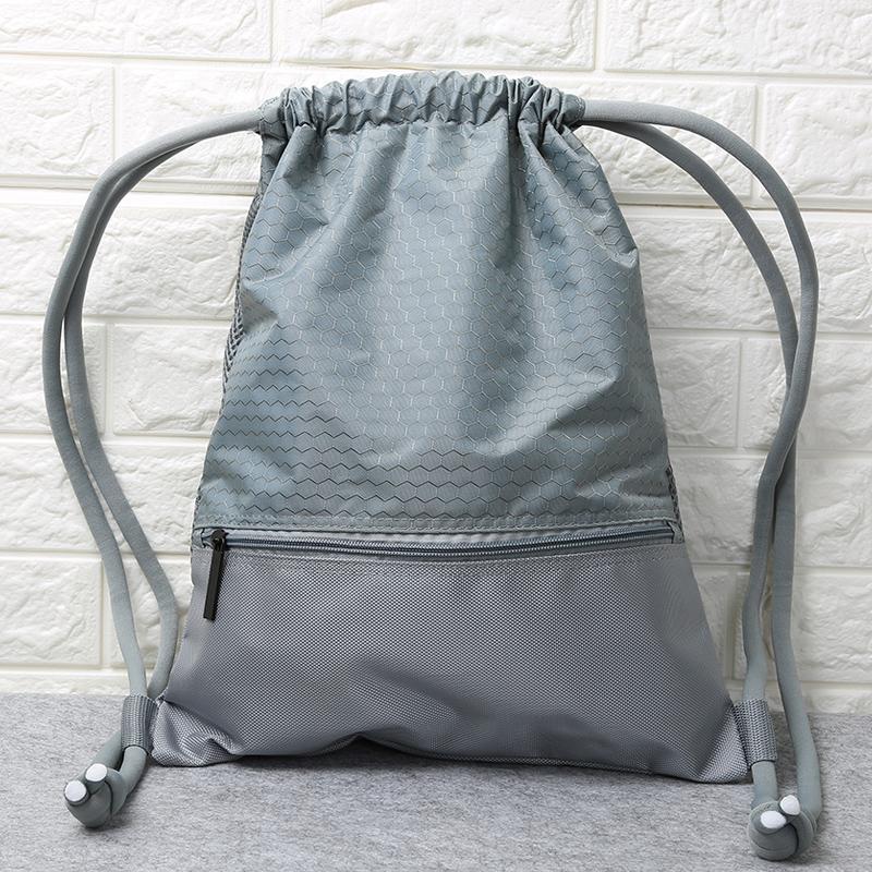 自行车骑行背包防泼水透气户外跑步篮球便携双肩束口抽绳运动背袋