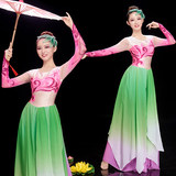Opening Dance Big Dress Female Adults New Atmospheric Stage Performance Long Skirt Elegant Chinese Style Classical Dance Clothing