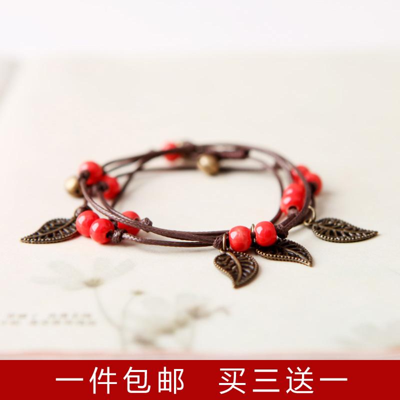 多层编织手链