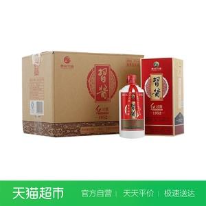贵州 习酒红习酱1952酱香型53度500ml*6瓶白酒整箱装