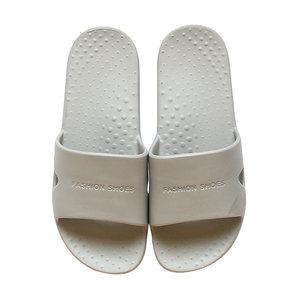 快鹿简约时尚百搭拖鞋家用无臭洗澡凉拖鞋男女日式软底纯色911