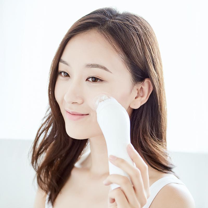 淘宝心选洁面仪洗脸神器家用脸部毛孔清洁器硅胶电动软毛刷充电式