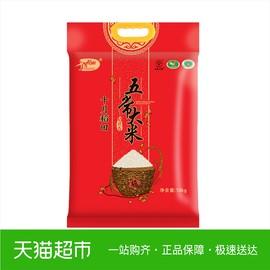 十月稻田五常大米香米东北大米10kg包装五常大米东北香米图片