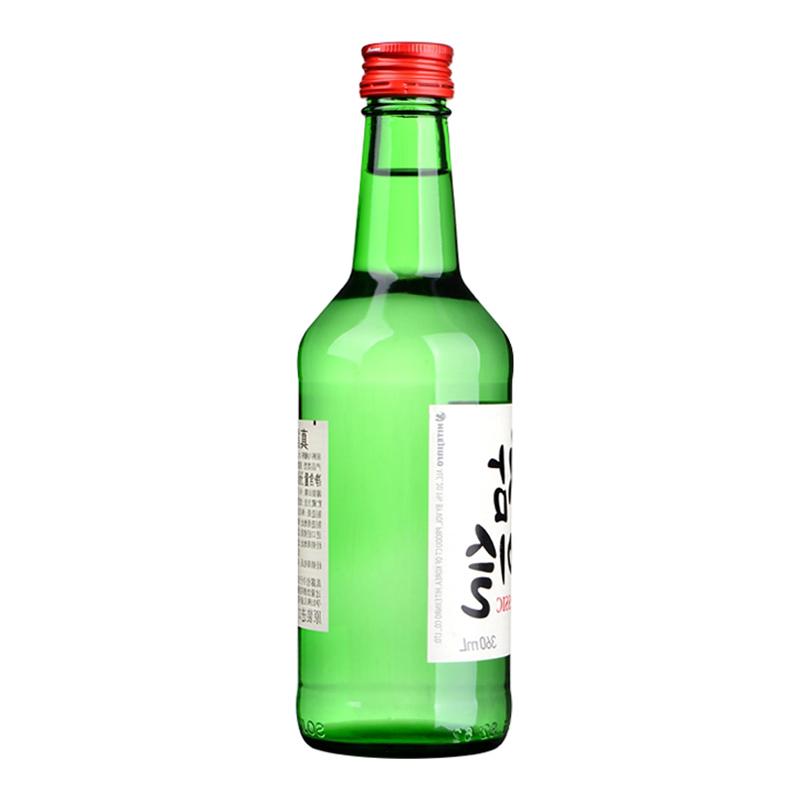 韩国烧酒清酒 360ml 20.1VOL 韩国进口真露竹炭酒