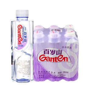 百岁山矿泉水348ml*6    有益 优质天然 饮用矿泉水