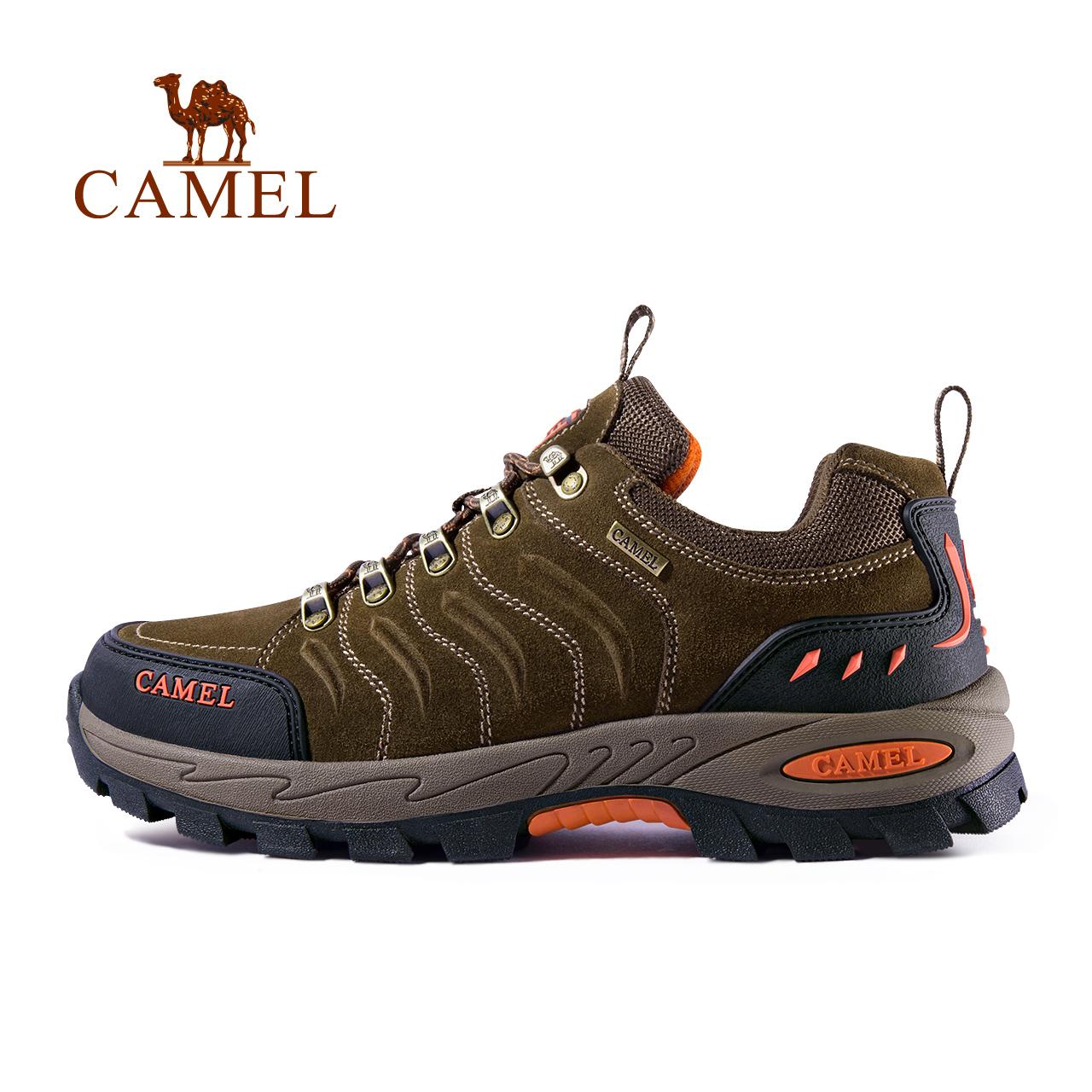 骆驼户外登山鞋男女秋冬季防滑减震耐磨休闲徒步鞋户外运动滑雪鞋