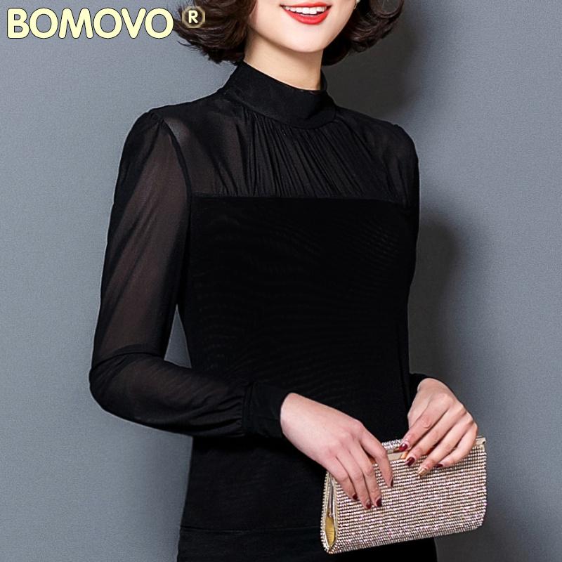 新款高领黑色春秋打底衫女长袖.