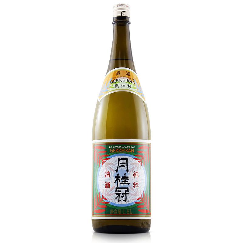 中日合资国产清酒洋酒日式酒酿造酒米酒日本酒清酒 1.8L 月桂冠清酒