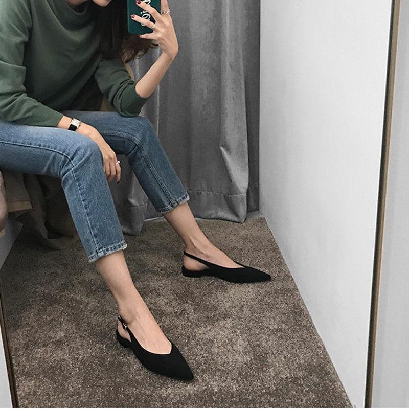 欧美尖头凉鞋女鞋