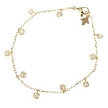 PIAGET伯爵手镯18K黄金钻石手链 正品 艾柏利珠宝 二手原装图片