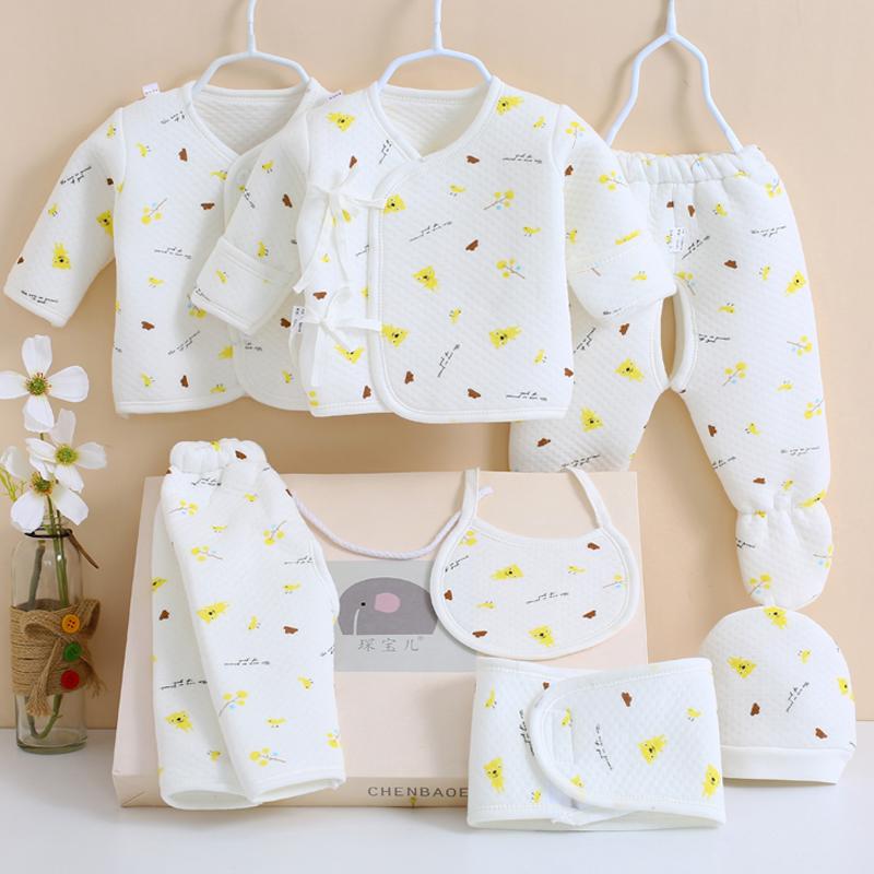 婴儿衣服纯棉套装新生儿礼盒0-3个月秋冬6初生刚出生宝宝母婴用品