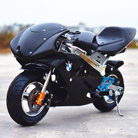 Mini motorcycle 2 stroke 49 small sports car mixed gasoline road race micro small ATV small cricket match