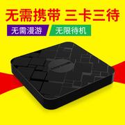 苹果X手机壳iphone678PLU副卡套SIM扩展卡通用苹果皮双卡双待神器