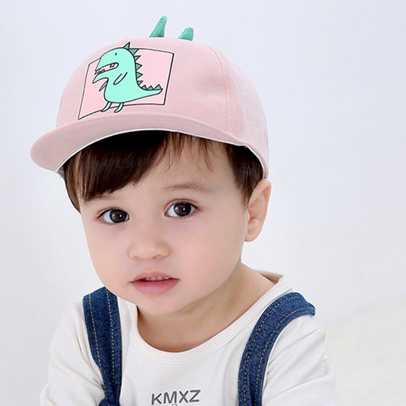 婴幼男女儿童帽子可爱超萌卡通棒球帽春秋季1-4岁鸭舌帽潮平沿帽