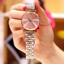 Special counter genuine 2019 new watches ladies fashion drill-inlaid steel belt import core quartz waterproof student watches