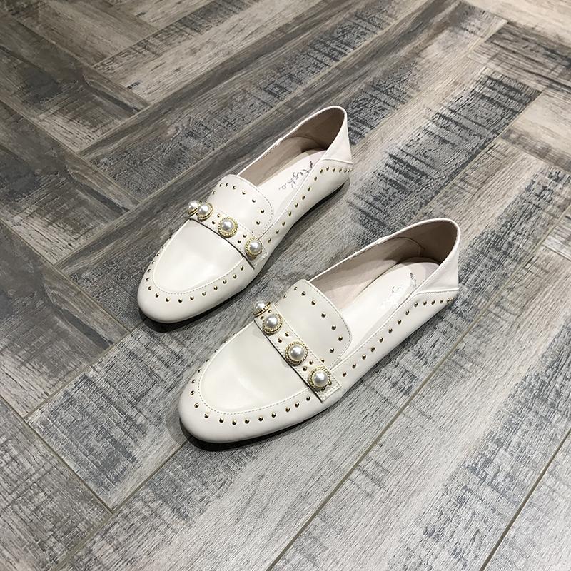 风格平底单鞋