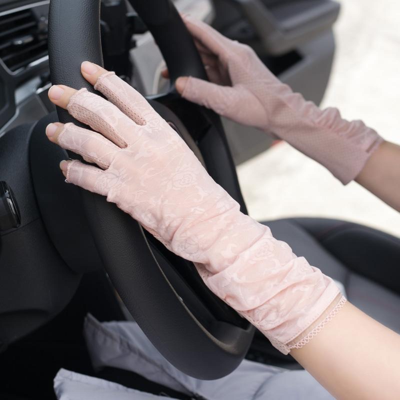 Женские перчатки без пальцев Артикул 587648533477