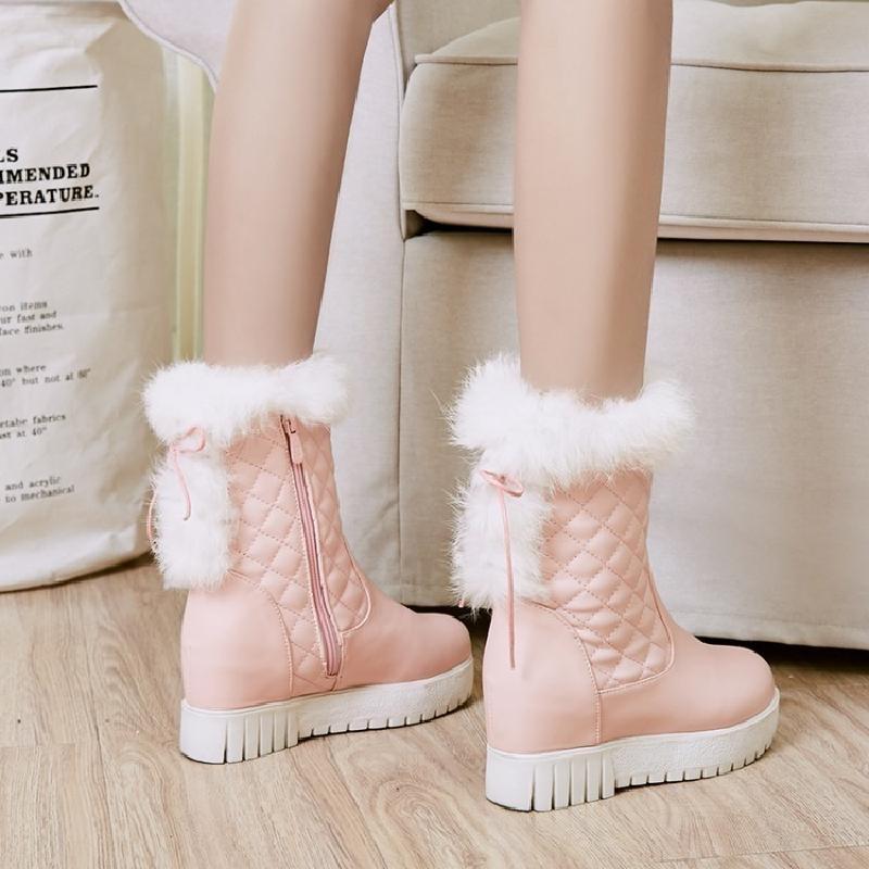 女童雪地鞋女冬
