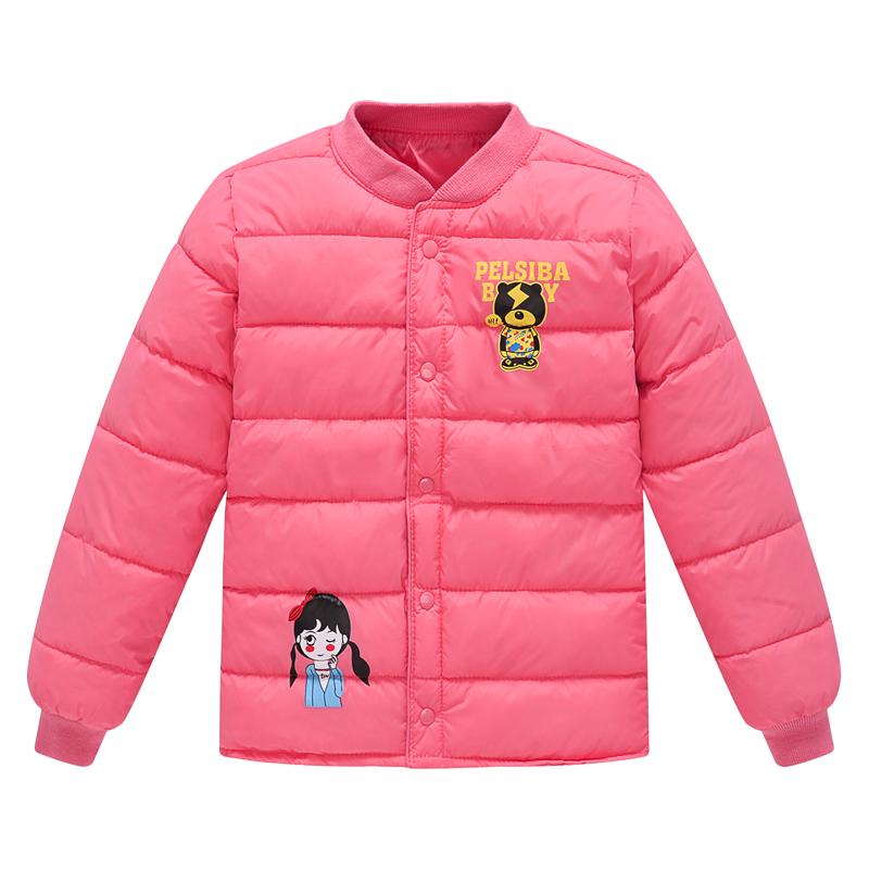 秋冬反季童装儿童羽绒棉服男女童小孩中大童宝宝内胆上衣保暖外套