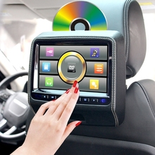 9-inch HD Headrest DVD Display Back Headrest Screen 1080P Intelligent Vehicle Entertainment Video and Audio System