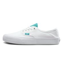 低帮帆布鞋 Vans范斯官方正品 白色男女款