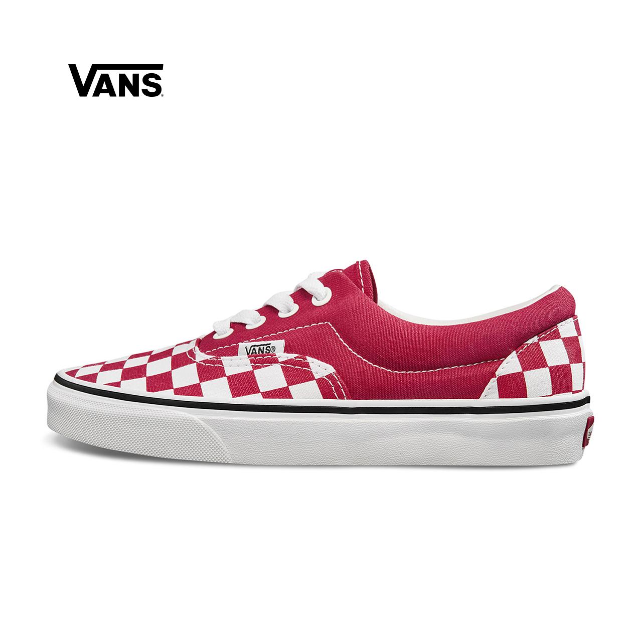 Vans范斯 经典系列 Era帆布鞋 低帮男女棋盘格新款官方正品