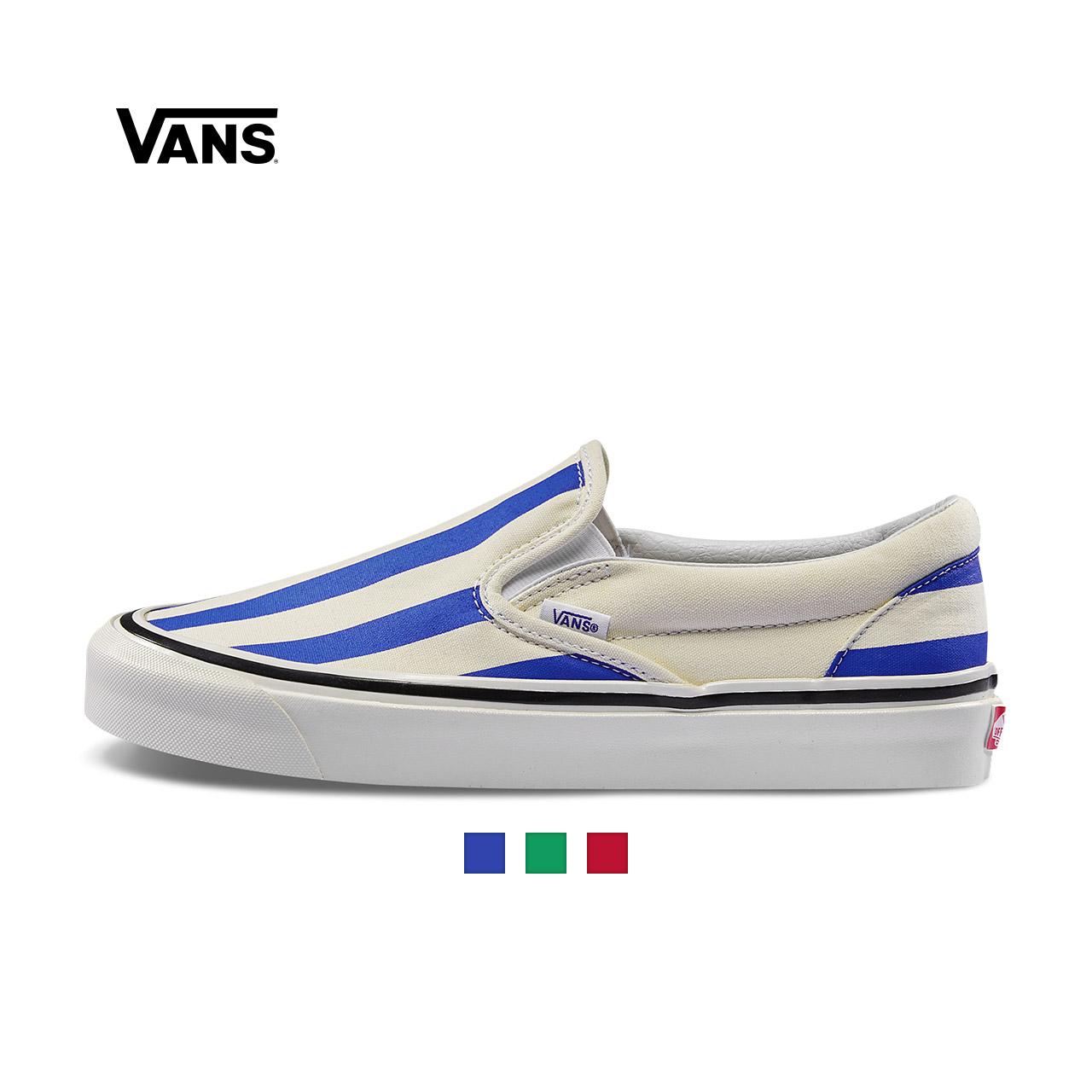 Vans范斯 经典系列 Slip-On帆布鞋 安纳海姆低帮男女官方正品