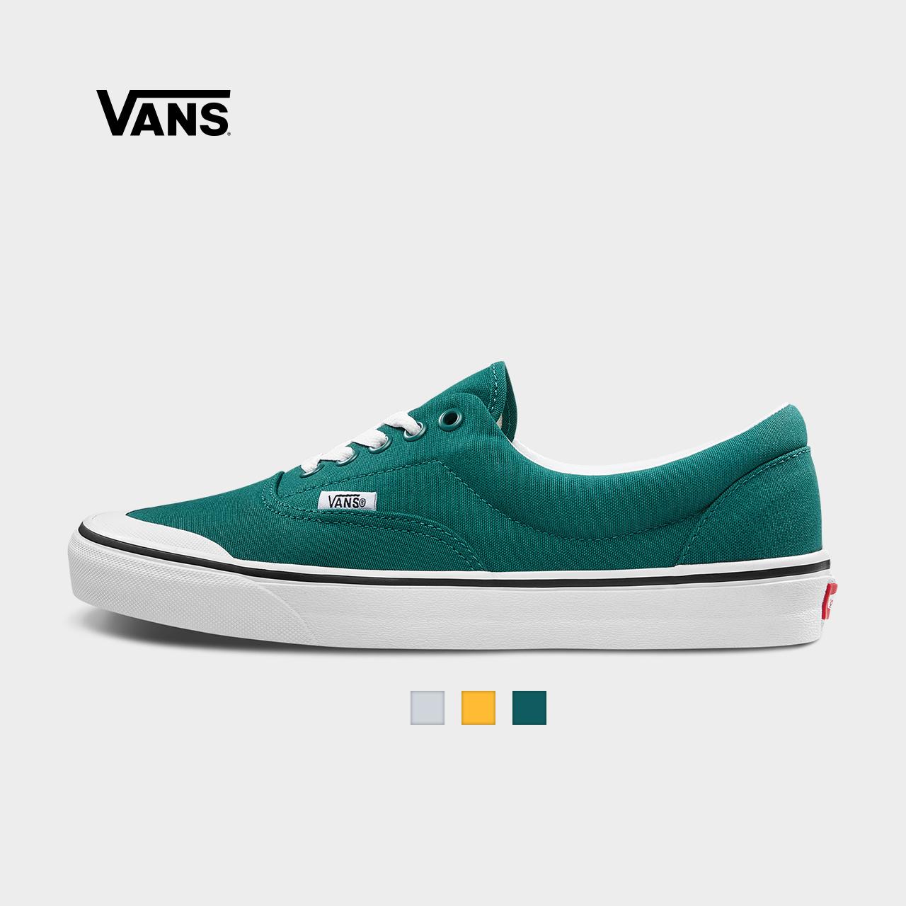 Vans范斯 经典系列 ERA帆布鞋 Toe Cap低帮男女半包头官方正品