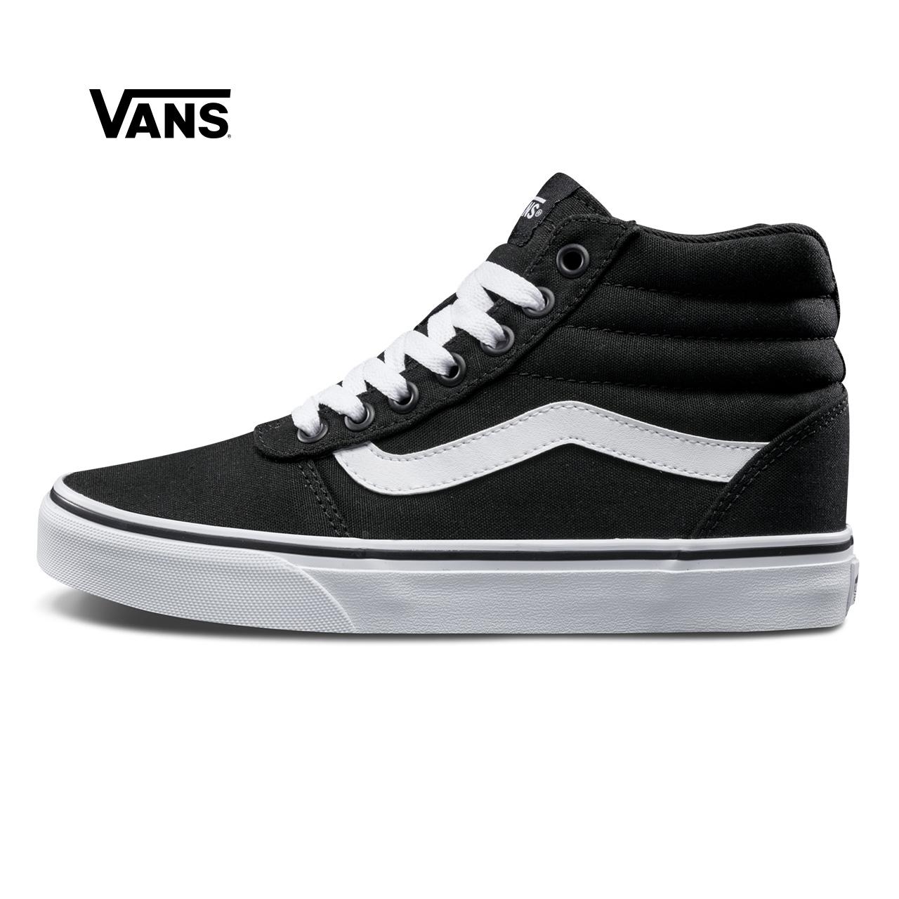 Vans/范斯黑色女款运动鞋板鞋帆布鞋|VN0A3IUO187