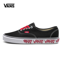 AUTHENTIC Q9M VN0A38EMQ6D 范斯夏季黑色中性款 Vans 帆布鞋
