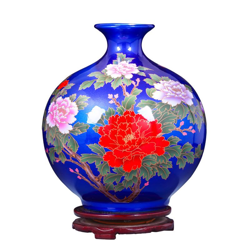 鼎众陶瓷花瓶插花摆