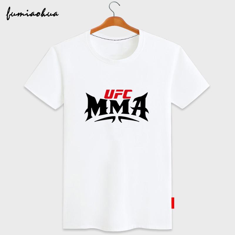 富苗花UFC无限制综合格斗训练T恤 MMA拳击散打宽松大码短袖