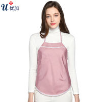 Radiation protection suit maternity dress genuine anti-radiation clothes anti-computer radiation silver fiber apron to work in spring and summer