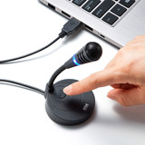 Japan Yamay laptop microphone microphone desktop home usb interface noise-cancelling voice recording capacitor