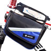 Bicycle bag mountain bike road bike saddle bag upper tube bag front beam bag mobile phone bag riding equipment bicycle accessories