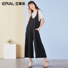 ERAL/艾莱依阔腿裤夏装2018新款时髦女高腰休闲连体裤667X230006图片