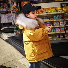 女童羽绒服中长款2018新款韩版洋气冬装儿童中大童装宝宝加厚外套图片
