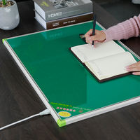 Qingyun office heating table pad computer hand warmer desktop writing heating pad glass student electric platen