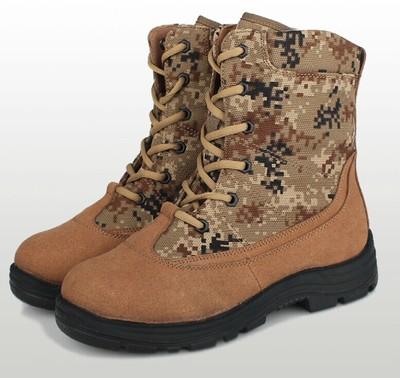 正品配发07防寒靴男冬季作战靴羊毛军靴特种兵战术靴作训靴保暖靴