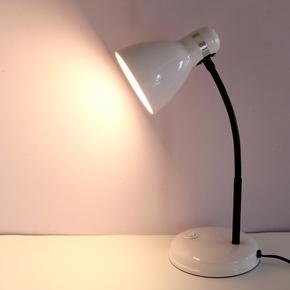 寝室台灯无频闪护眼灯宿舍大学生书桌插电儿童现代简约学习保视力