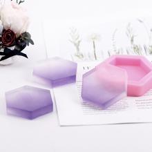 爱皂坊六边形手工皂硅胶模标准DIY香皂矽胶模具好脱模