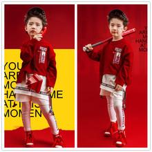 影楼写真儿童摄影服装 男童宝宝男孩照相拍照 2018童模女走秀服装