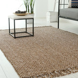 Imported hand-woven rug Cotton and linen solid color living room bedroom Nordic ins Indian tapestry bedside simple modern