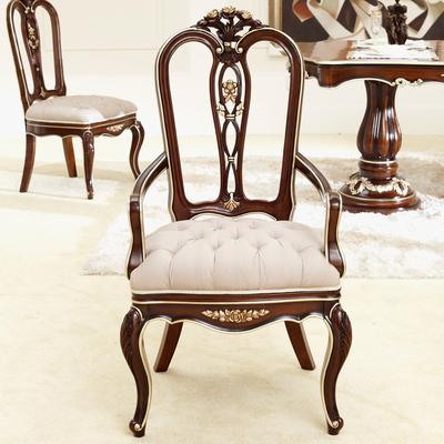 新古典餐椅雕花哪个品牌好