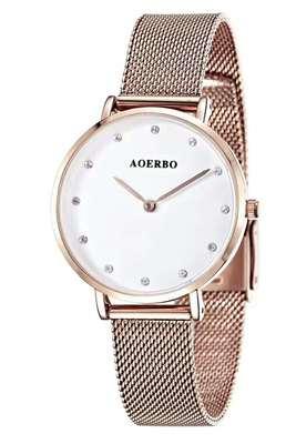 聚利时手表时尚钢带潮
