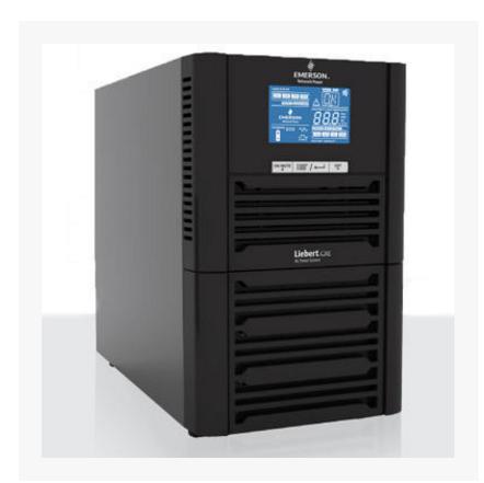 艾默生GXE 2KVA 1600W UPS不间断电电源稳压长机需外搭配电池