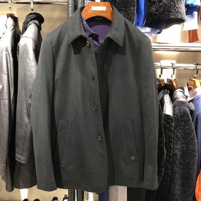 路卡迪龙专柜正品秋冬季男装休闲加厚山羊绒毛呢大衣外套11718006